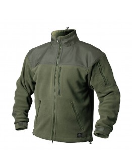 HELIKON-TEX CLASSIC ARMY JACKET - FLEECE OLIVE GREEN