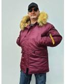 Куртка Аляска Husky Burgundy / Burgundy