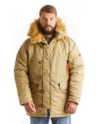 Куртка Аляска Husky Khaki / Khaki