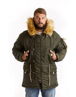 Куртка Аляска Husky MILITARY (NEW) Olive night / Olive night