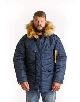 Куртка Аляска Husky Blue / Orange