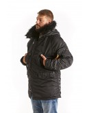 Куртка Аляска Husky Black Line / Black Fur