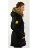 Куртка Аляска Husky WMN (Woman) Black